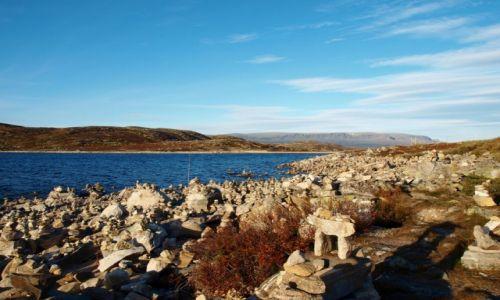 Zdjęcie NORWEGIA / Hardanger / Hardangervidda / jezioro
