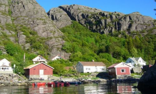 Zdjęcie NORWEGIA / ok. Flekkefjord / Bu / Bu