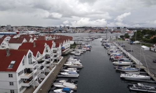 Zdjecie NORWEGIA / Rogaland / Stavanger / Pod mostem.