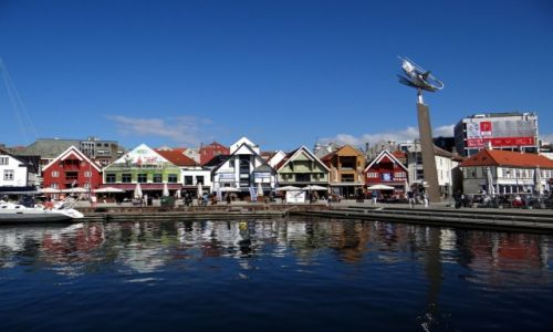 Zdjecie NORWEGIA / Rogaland / Stavanger / W porcie.