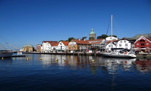 Zdjecie NORWEGIA / Rogaland / Stavanger / Spacerem po porcie.