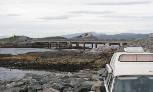 Zdjecie NORWEGIA / Molde / Molde / Norwegia-motocyklem