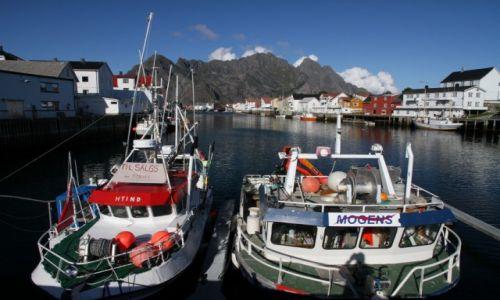 Zdjęcie NORWEGIA / Lofoty zachodnie / Hennigsvaer / Lofoty