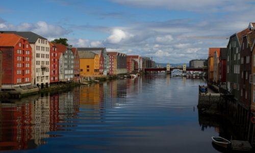 Zdjecie NORWEGIA / Trondheim / Trondheim / Wenecja północy