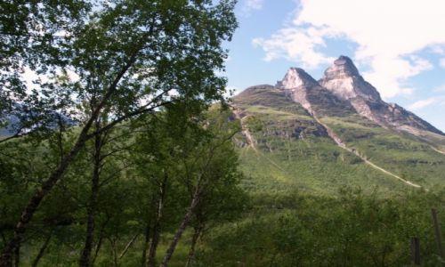 Zdjecie NORWEGIA / północna Norwegia / okolice Tromso / w górach
