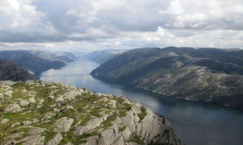 Zdjecie NORWEGIA / Rogaland / Preikestolen / Norweskie klimaty
