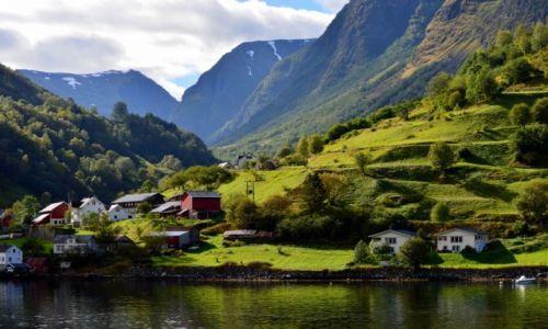 Zdjecie NORWEGIA / zach Norwegia / okilice Bergen / Sognefjord