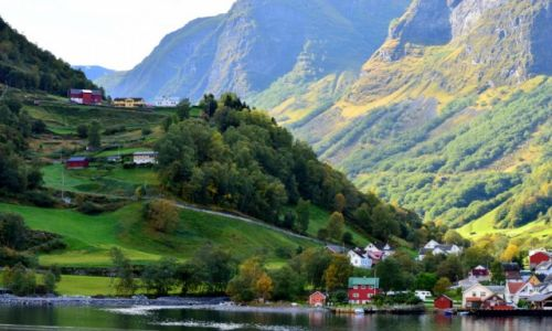 Zdjecie NORWEGIA / zach Norwegia / okolice Bergen / Sognefjorden