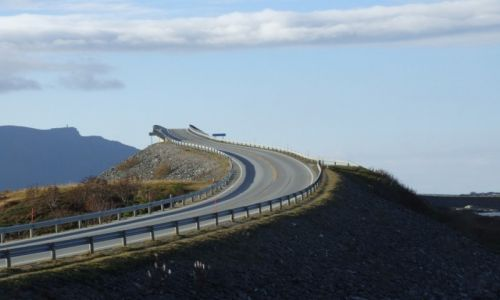 Zdjecie NORWEGIA / Kristiansund / Storseisundbura / Most