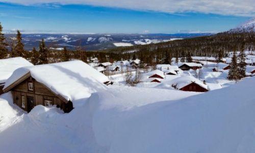 Zdjecie NORWEGIA / Hedmark / Trysil / zima...