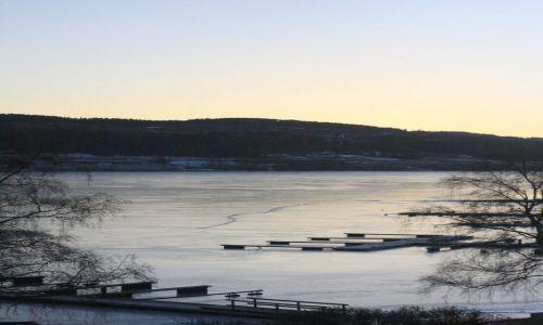 Zdjecie NORWEGIA / Lillehammer / Lillehammer / Wsch�d s�o�ca w