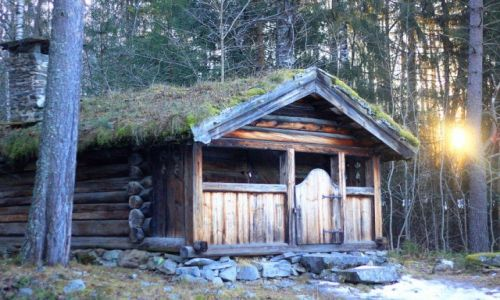 Zdjecie NORWEGIA / Lillehammer / Maihaugen / Skansen Maihaug