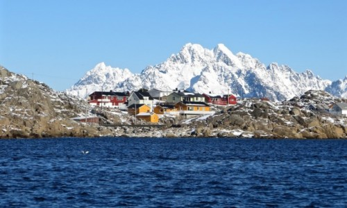 Zdjecie NORWEGIA / Nordland / Skrova / LOFOTY