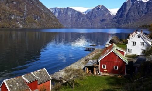 NORWEGIA / Sogn og Fjordane / Aurland / Aurlandsfjord