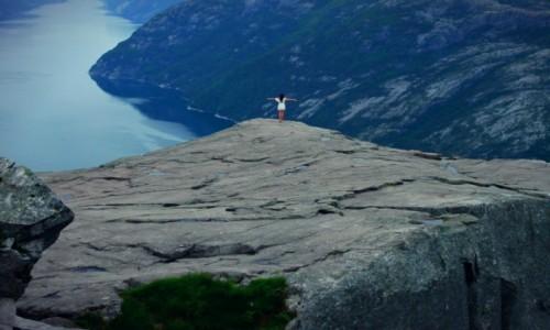 Zdjecie NORWEGIA / Stavanger / Preikestolen, Pulpit Rock / Norway