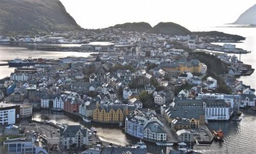 Zdjecie NORWEGIA / Møre og Romsdal / Ålesund / Ålesund