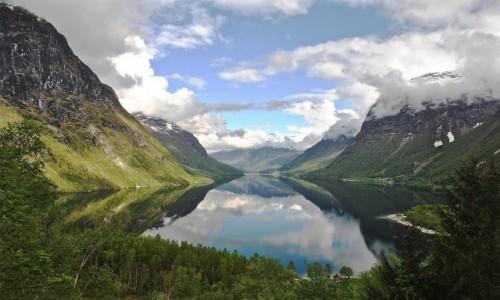 NORWEGIA / Sogn og fiordne / Loen... / wiosna...