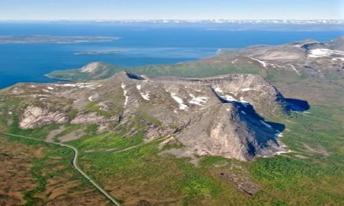 Zdjecie NORWEGIA / Nordland / Samolot-Narvik / LOFOTY