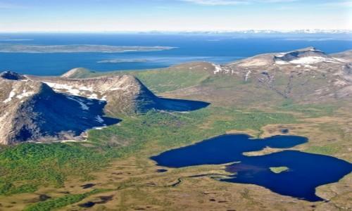NORWEGIA / Nordland / Samolot-Narvik / LOFOTY