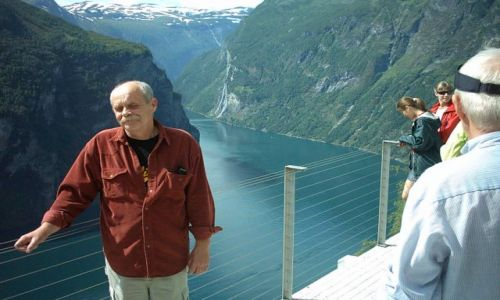 Zdjecie NORWEGIA / srodkowo zachodnia Norwegia / fiordy / Fiord Gairanger