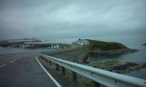 Zdjecie NORWEGIA / brak / nad morzem norweskim / droga atlantyck