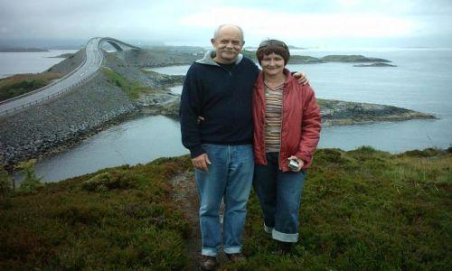 Zdjecie NORWEGIA / środkowo zachodnia norwegia / nad morzem norweskim / droga atlantyck