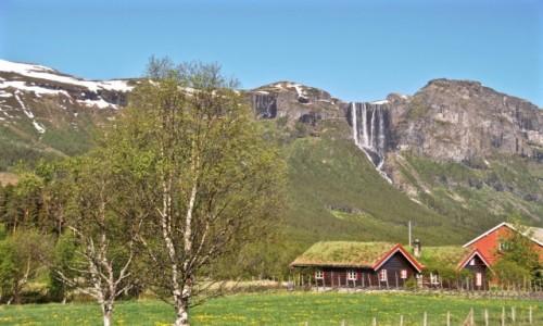 Zdjęcie NORWEGIA / Buskerud / Hemsedal / wiosna...
