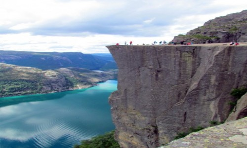 NORWEGIA / Rogaland / Preikestolen / Pulpit Rock