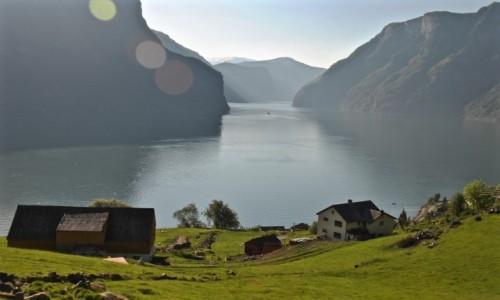 Zdjecie NORWEGIA / Sogn og Fjordane / Aurland / AURLAND