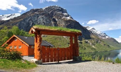 Zdjęcie NORWEGIA / Sogn og Fjordane / Loen / wiosna...