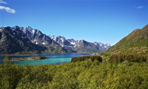 NORWEGIA / Nordland / Digermulen / LOFOTY