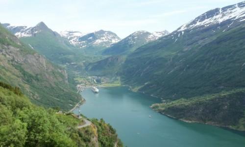 Zdjecie NORWEGIA / - / Geirangerfjord  / :)