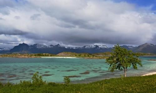 NORWEGIA / Nordland / Digermulen / Wiosna...