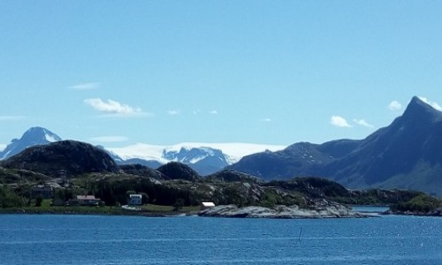 Zdjecie NORWEGIA / P�nocny zach�d Norwegii / wyspa Meloy / Widoki Norwegii