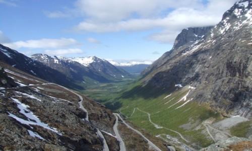 Zdjecie NORWEGIA / - / Droga 63 / Trollstigen vei 3