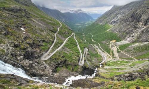 Zdjecie NORWEGIA / Gmina Rauma / Droga nr 63 / Trollstigen - Droga Trolli