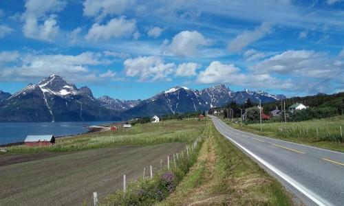 NORWEGIA / troms / Lyngenfjord / Lyngenfjord