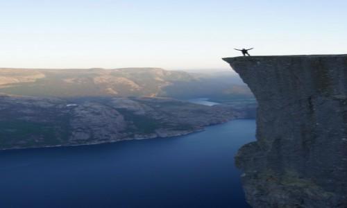 Zdjecie NORWEGIA / Stavanger / Norwegia / Preikestolen- Pulpit Rock