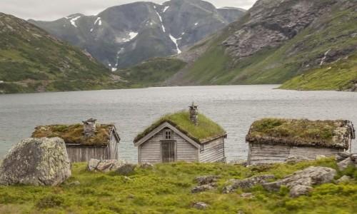 Zdjecie NORWEGIA / p�n. Norwegia / ok. Nordfjord / Chyba trolli...