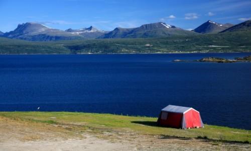 NORWEGIA / Nordland / Narvik / Biwak