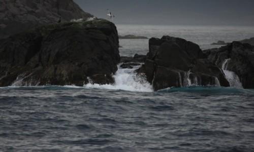 Zdjęcie NORWEGIA / płn. Norwegia / Lofoty / Lafoty z wody...