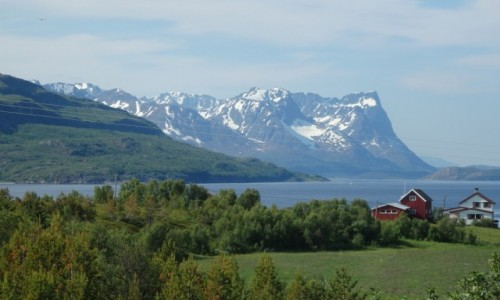 NORWEGIA / Alta / Norwegia północna / Północne lato