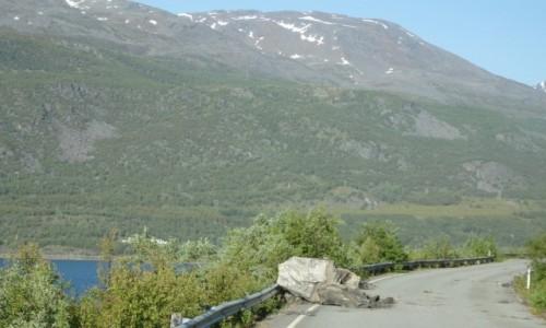 NORWEGIA / Norwegia północna / Norwegia północna / Czasem coś spadnie