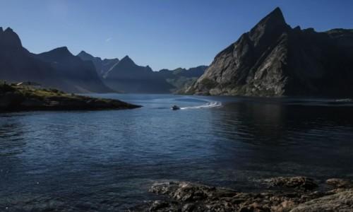 Zdjecie NORWEGIA / p�n. Norwegia / Sakrisøy / Sakrisoy