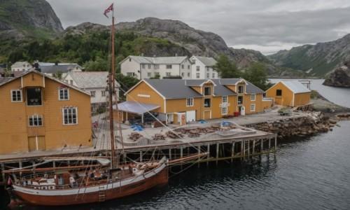 NORWEGIA / p�n. Norwegia / Nusfjord / Nusfjord