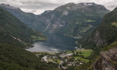 NORWEGIA / p�n. Norwegia / Geirangerfjord / Geirangerfjord