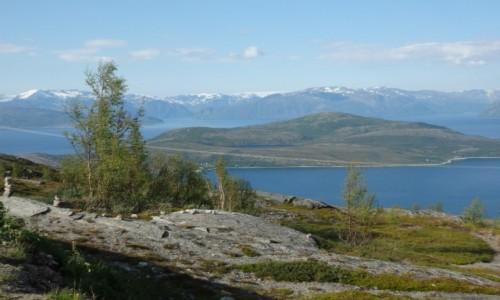 NORWEGIA / Norwegia p�nocna / mi�dzy Alt� , a Lofotami / P�nocne lato