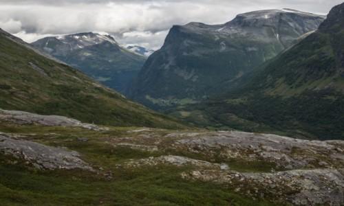 Zdjęcie NORWEGIA / płn. Norwegia / płn. Norwegia / W stronę Grotli