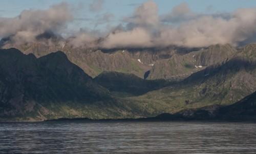 Zdjęcie NORWEGIA / płn. Norwegia / Lofoty / Nad fjordami...