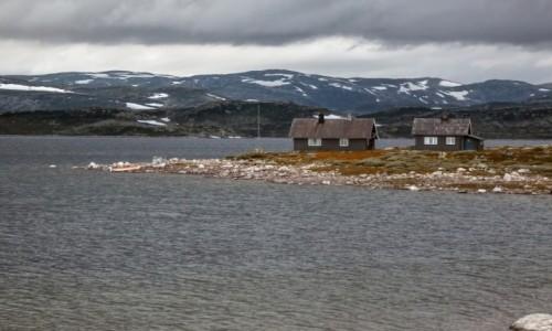 Zdjecie NORWEGIA / płn. Norwegia / płn. Norwegia / Saudavegen latem....